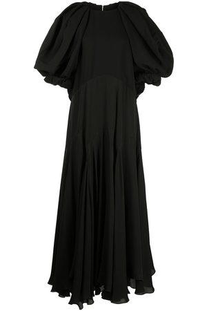 Khaite Renata drape-detail dress