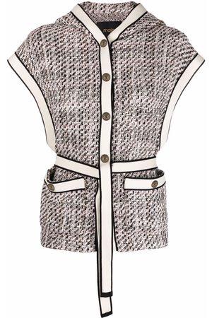 Maje Venatola bouclé jacket - Neutrals
