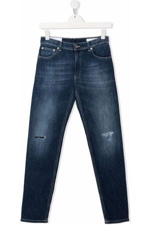 Dondup Slim - TEEN distressed-effect slim-cut jeans