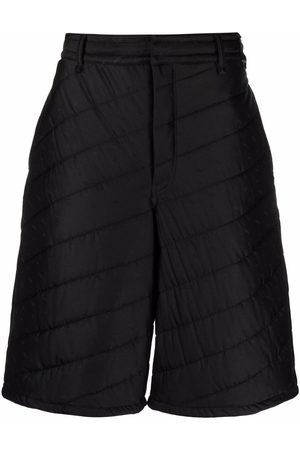 Fendi Quilted knee-length shorts
