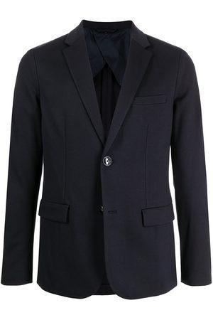 Emporio Armani Single-breasted long-sleeved blazer
