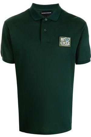 Emporio Armani Men Polo Shirts - Logo-patch polo shirt