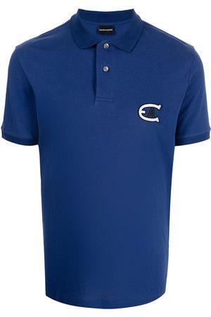 Emporio Armani Logo-patch polo shirt