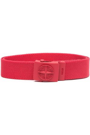 Stone Island Logo-buckle belt