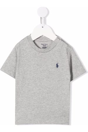 Ralph Lauren Polo Pony-embroidered T-shirt - Grey