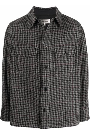 Isabel Marant Gervon shirt jacket - Grey