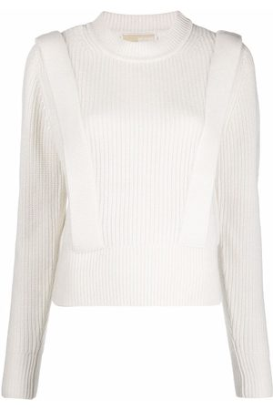 Michael Kors Ribbed-knit crew-neck jumper