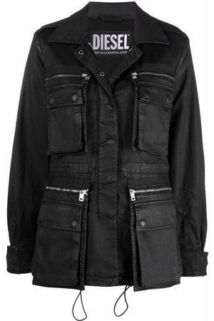 Diesel Claudia coated jacket