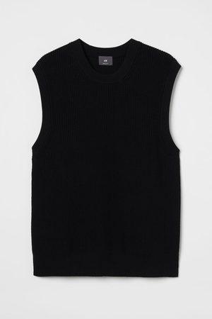 H&M Men Tank Tops - Regular Fit Sweater Vest