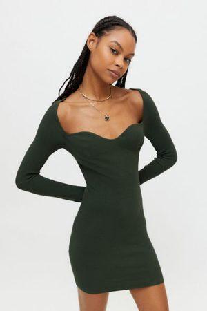 Urban Outfitters Women Casual Dresses - UO Elsa Long Sleeve Sweater Dress