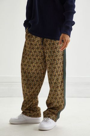 Urban Outfitters Men Wide Leg Pants - UO Wide-Leg Track Pant