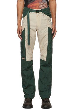 Reese Cooper Men Sports Pants - Paneled Nylon Sport Trousers