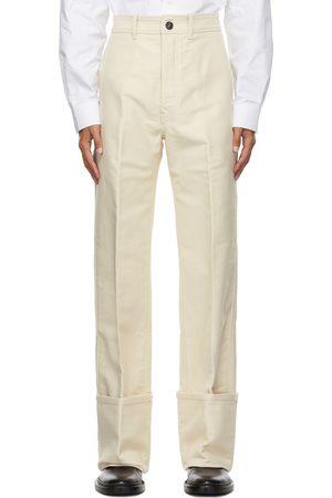Uniforme Men Chinos - Deep Cuffs Wide Chino Trousers
