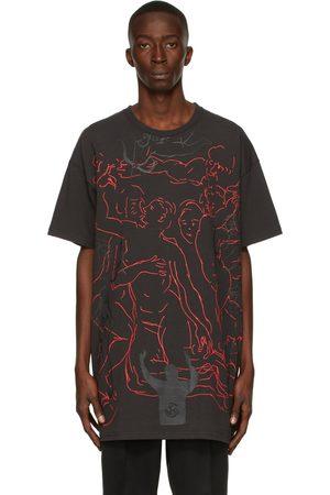 SANKUANZ Men T-shirts - Zhou Yilun Edition Graffiti T-Shirt