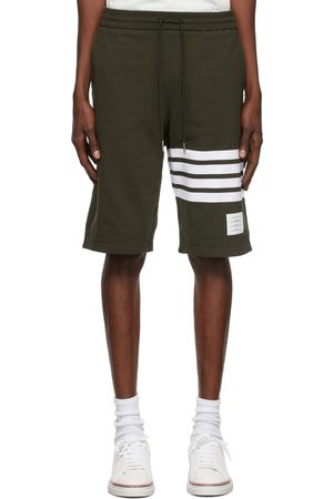 Thom Browne Logo French Terry Shorts