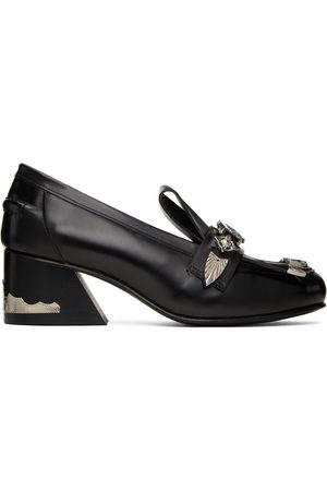 TOGA PULLA Leather Loafer Heels