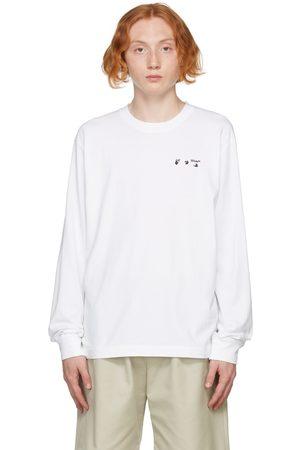 OFF-WHITE Logo Skate Long Sleeve T-Shirt