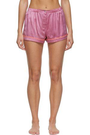 Araks Women Shorts - Silk Satin Tia Boxer Shorts