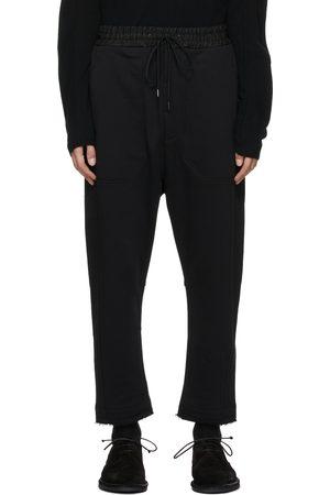 ISABEL BENENATO Men Sweats - Raw Hem Lounge Pants