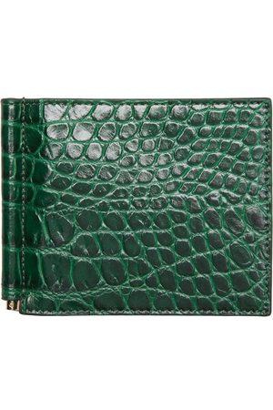 Rhude Men Wallets - Croc-Embossed Bill Clip Wallet