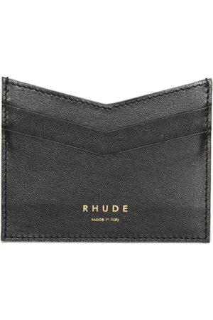 Rhude Men Wallets - Leather Card Holder