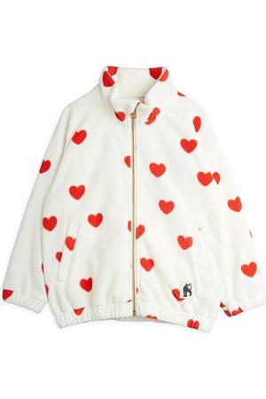 Mini Rodini Little Girl's & Girl's Heart-Print Fleece Jacket