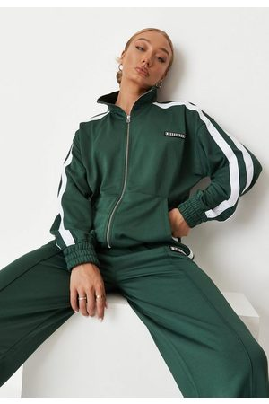 Missguided Co Ord Funnel Tracksuit Top
