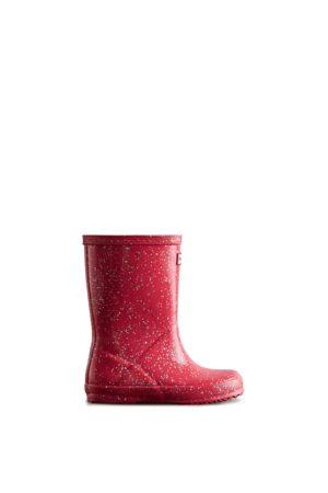 Hunter Kids First Giant Glitter Rain Boots