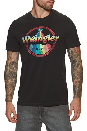 Wrangler Jeans Men Short Sleeve - Wrangler Rainbow s Short Sleeve T-Shirt