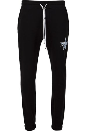 AMIRI Paisley Star Sweatpants Black