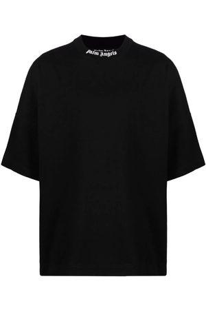 Palm Angels Men T-shirts - Classic Oversized Logo Tee