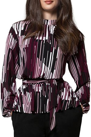 Leota Mindy Blouson Sleeve Jersey Top