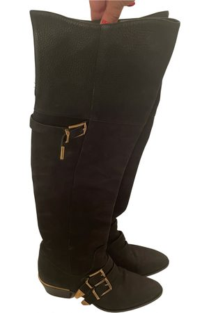 Chloé Susanna leather cowboy boots