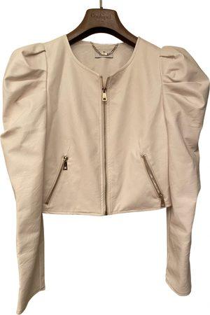 Motivi Vegan leather biker jacket