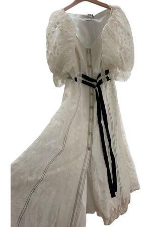 AJE Silk mid-length dress