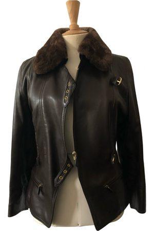 Hermès Leather biker jacket