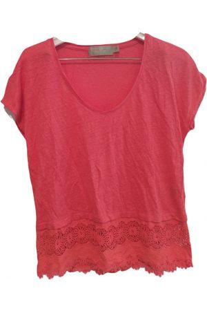 PEDRO DEL HIERRO Linen t-shirt