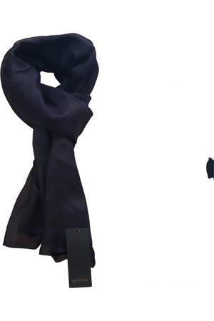 ALPHA STUDIO Silk scarf & pocket square