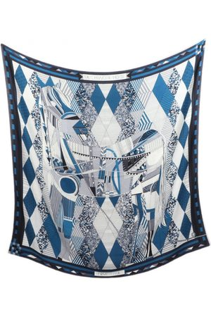 Hermès Cashmere neckerchief