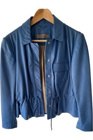 UTERQUE Leather short vest