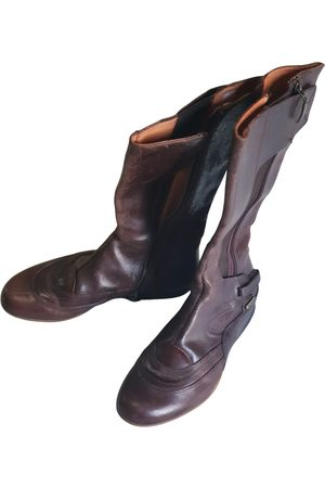 Cesare Paciotti Women Cowboy Boots - Leather western boots