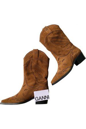 Ganni Western boots