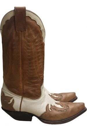 Mexicana Women Cowboy Boots - Leather cowboy boots