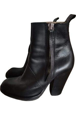 Acne Studios Pistol leather western boots