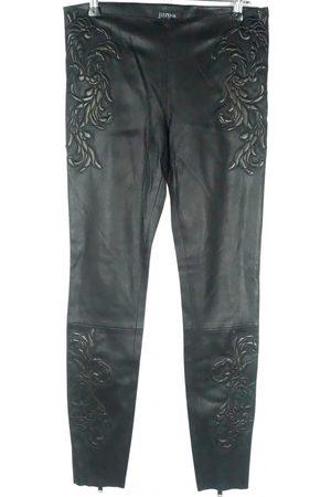 JITROIS Leather leggings