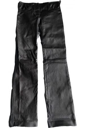 JITROIS Women Leather Pants - Leather straight pants