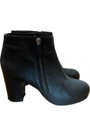 Billi Bi Leather ankle boots