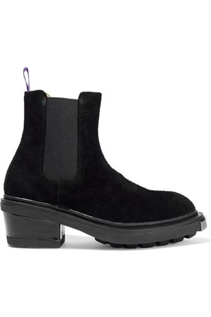 Eytys Women Heeled Boots - Woman Nikita Suede Chelsea Boots Size 35
