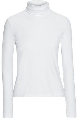RE/DONE Women High Necks - Woman 60s Organic Stretch-cotton Jersey Turtleneck Top Size L