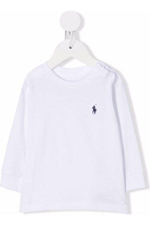 Ralph Lauren Embroidered logo long-sleeved T-shirt